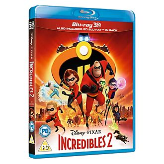 The Incredibles 2 3D Blu-ray