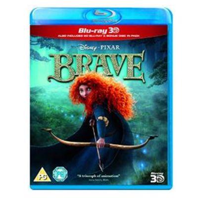 Brave 3D Blu-ray