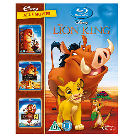 The Lion King 1-3 Blu-ray Boxset