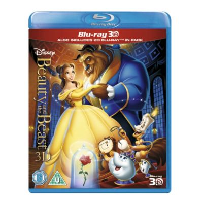 Beauty & the Beast 3D Blu-ray