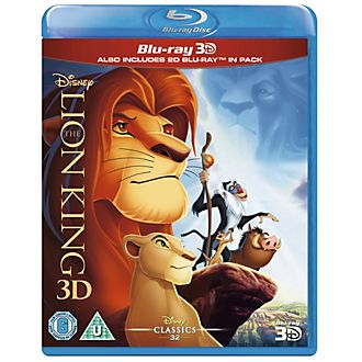 The Lion King 3D Blu-ray