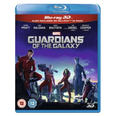 Guardians of the Galaxy 3D Blu-ray