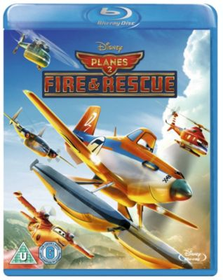 Planes 2 Fire & Rescue Blu-ray