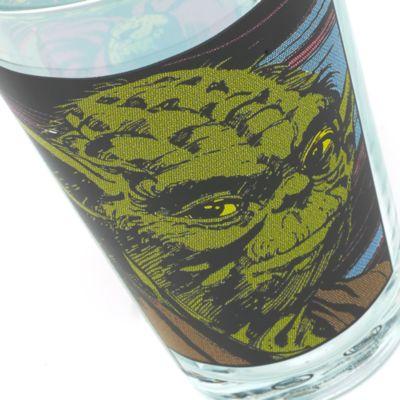 Bicchiere in vetro Star Wars, Yoda