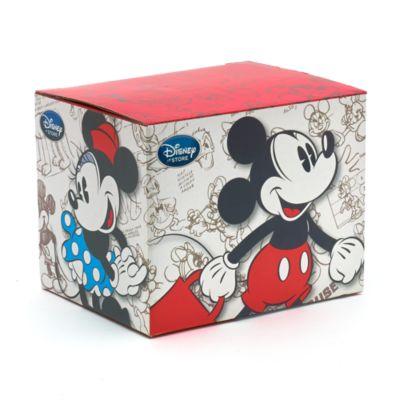 Caja de regalo Mickey y Minnie, tamaño taza