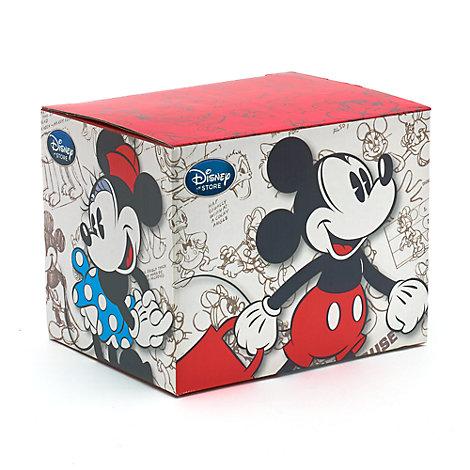 Mickey og Minnie Mouse gaveæske til krus
