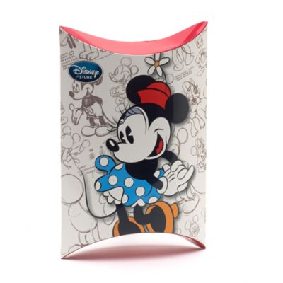 Caja pequeña para regalo forma almohada Mickey y Minnie