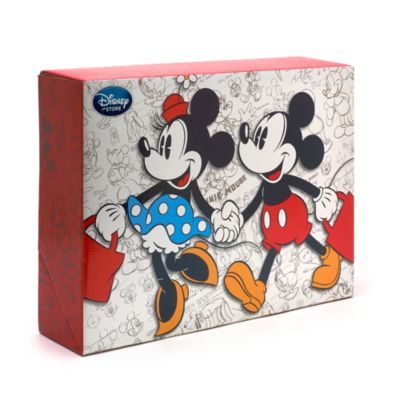 Caja grande para regalo Mickey y Minnie