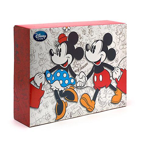 Stor Mickey og Minnie Mouse gaveæske
