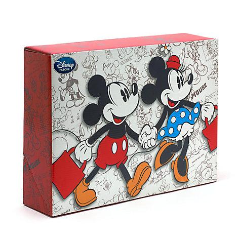 Petite boîte cadeau Mickey et Minnie Mouse