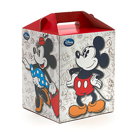 Mickey And Minnie Tall Gift Box
