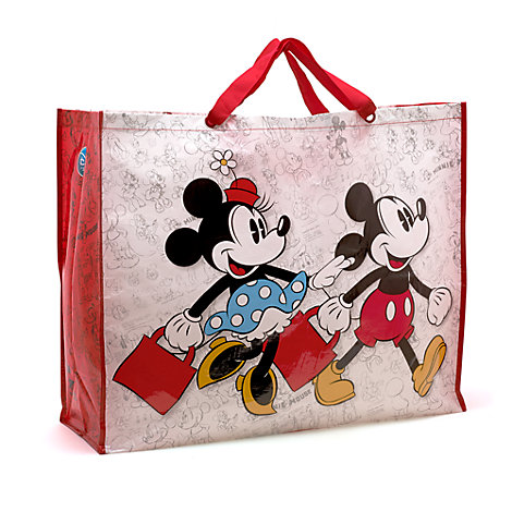 Mickey And Minnie Shopper, Extra Large Size