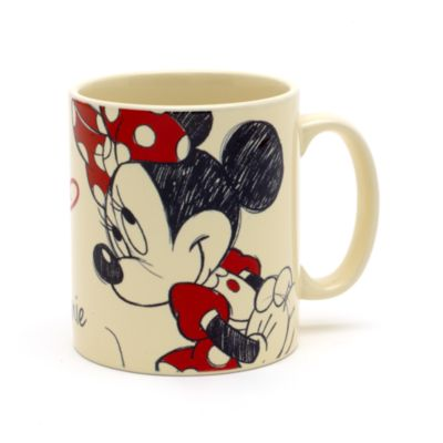Minnie Maus - Personalisierter Becher