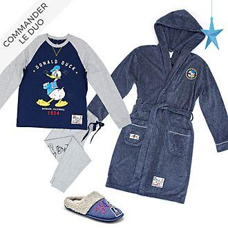 Disney Store Collection de vêtements d'intérieur Mickey et Donald pour adultes et enfants, MiniMe Loungewear