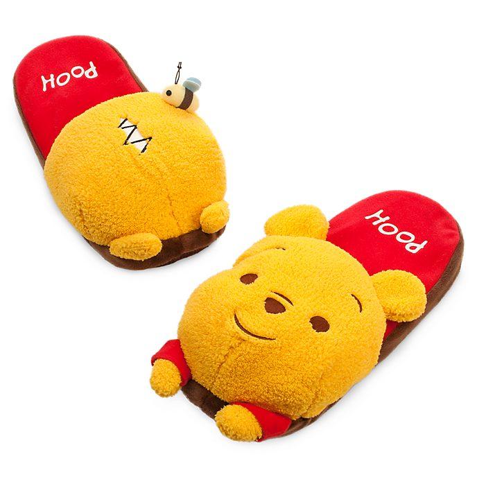 1f05dbdc823f Winnie the Pooh Adult Slippers