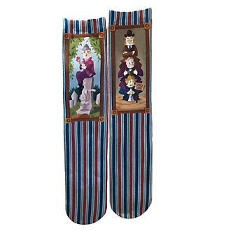 Disney Store The Haunted Mansion Socks For Adults