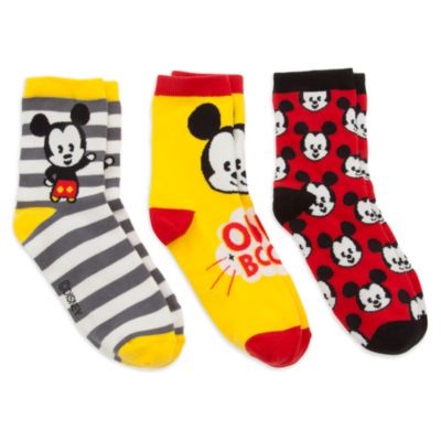 Mickey Mouse MXYZ Ladies' Socks, Pack of 3