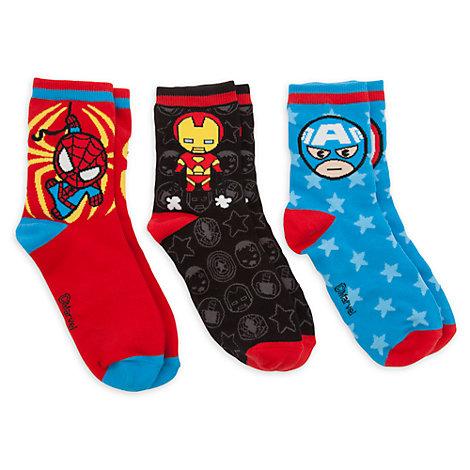 Calcetines MXYZ Marvel para chica, pack de 3