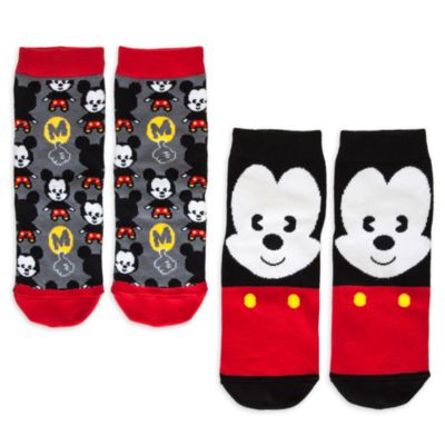 Calcetines para chica Mickey Mouse MXYZ, pack de 2