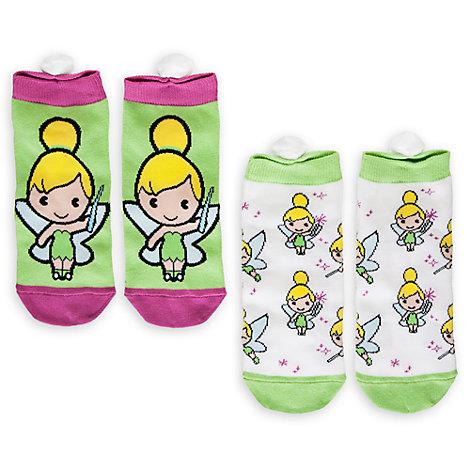 Calcetines para chicas Campanilla MXYZ, pack de 2
