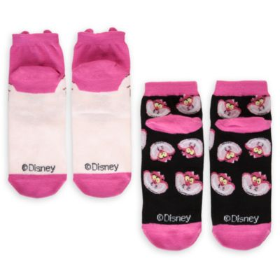 Calcetines gato Cheshire para chica, pack de 2