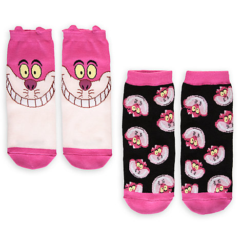 Cheshire Cat Ladies Socks, Pack of 2