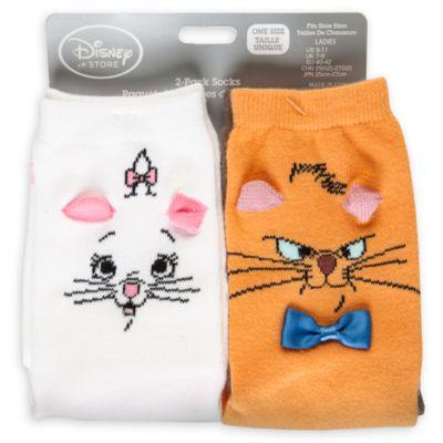 Aristocats sockor i damstorlek, 2 par