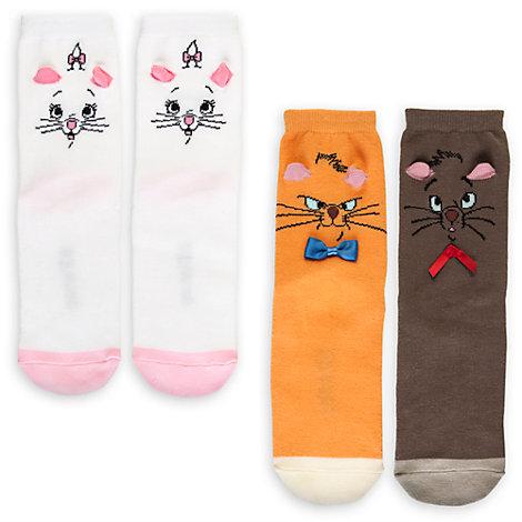 Lot de 2 paires de chaussettes Les Aristochats pour femmes