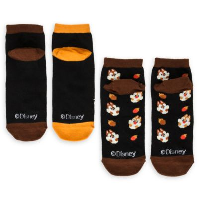 Calcetines Chip y Chop para chica, pack de 2