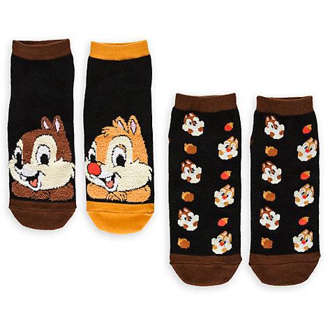 Lot de 2 paires de chaussettes Tic et Tac pour femmes