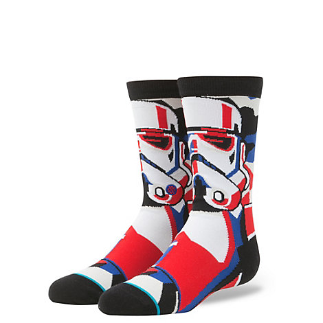 Stance Mosaic Star Wars Stormtrooper Socks For Kids