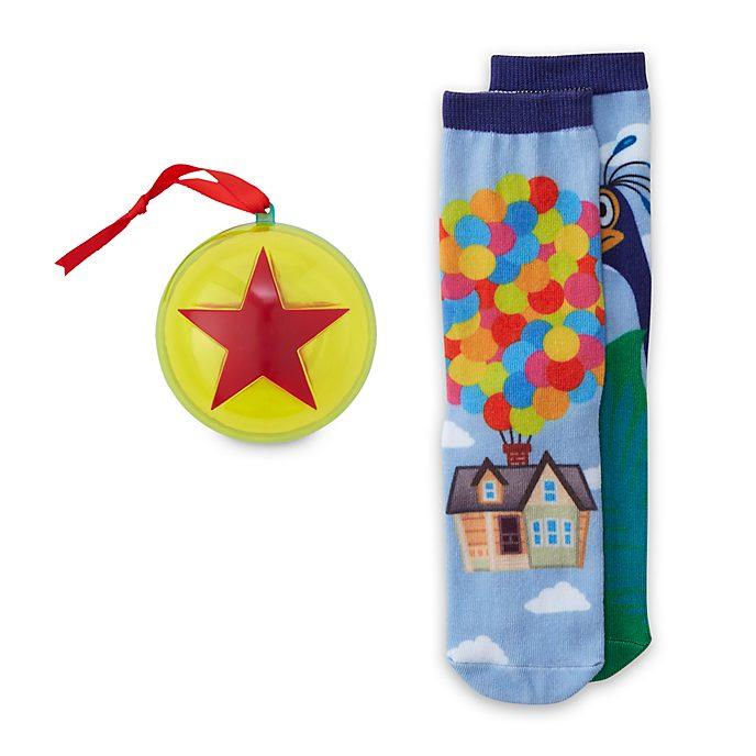 Disney Store Chaussettes décoratives Là-haut à suspendre, pour adultes, 1paire