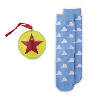 Disney Store - Toy Story - 1 Paar Socken für Erwachsene als Dekorationsstück zum Aufhängen