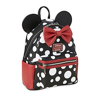Loungefly - Minnie Maus - Gepunkteter Mini-Rucksack