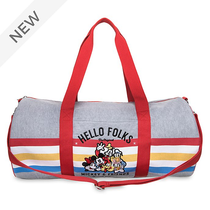 Disney Store Mickey and Friends Duffle Bag