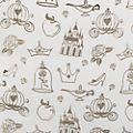 Disney Store Sac à main à paillettes dorées Princesses Disney