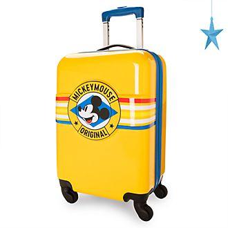 Disney Store Valise à roulettes Mickey jaune