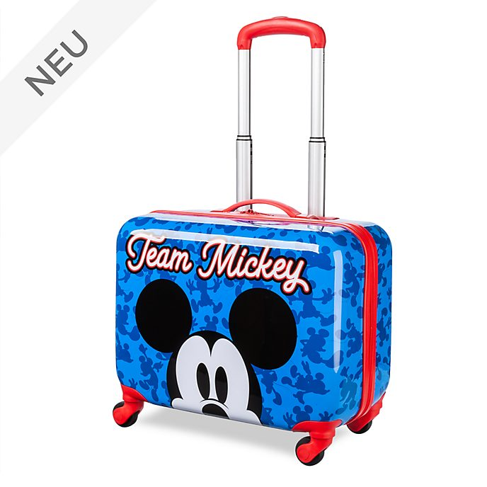 Disney Store - Micky Maus - Blauer Trolley