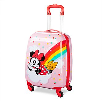 Disney Store Minnie Mouse Rolling Luggage