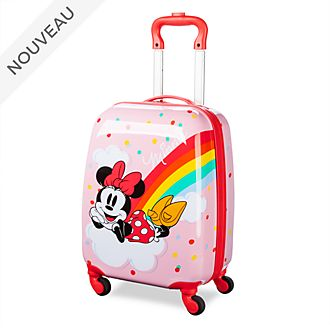 Disney Store Valise à roulettes Minnie Mouse