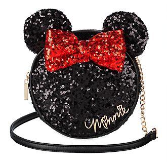 Borsa a tracolla con paillettes Minni Disney Store