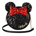 Disney Store Minnie Mouse Sequin Crossbody Bag