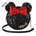 Disney Store Minnie Mouse Sequin Crossbody Bag