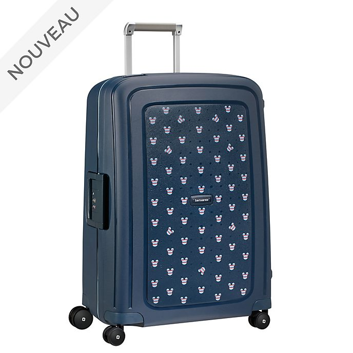 Samsonite Valise à roulettes S'Cure Mickey bleu marine