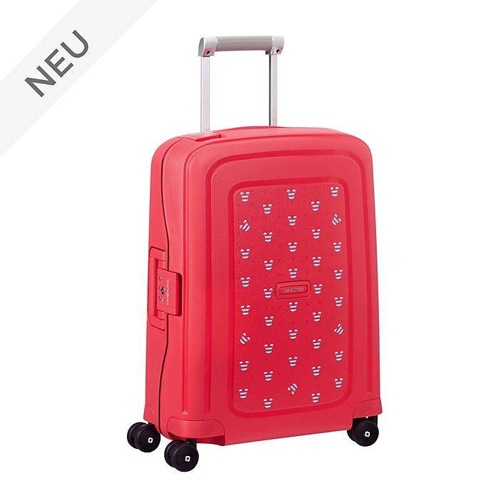 Samsonite - S'Cure - Micky Maus - kleiner Trolley in Rot