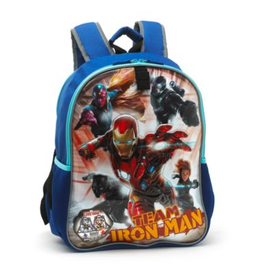 Sac à dos réversible Captain America et Iron Man de Captain America : Civil War