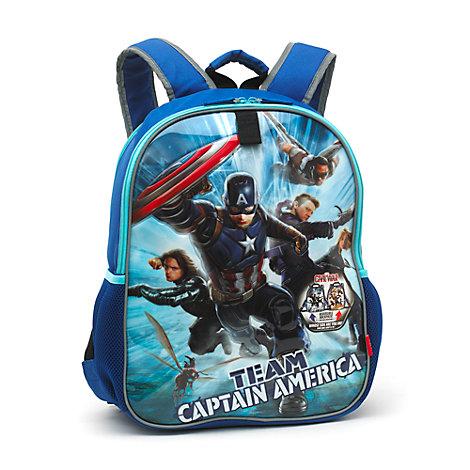 Vendbar Captain America og Iron Man rygsæk, Captain America: Civil War