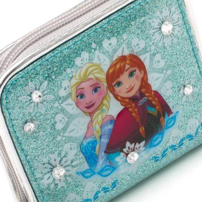 Petit portefeuille zippé La Reine des Neiges