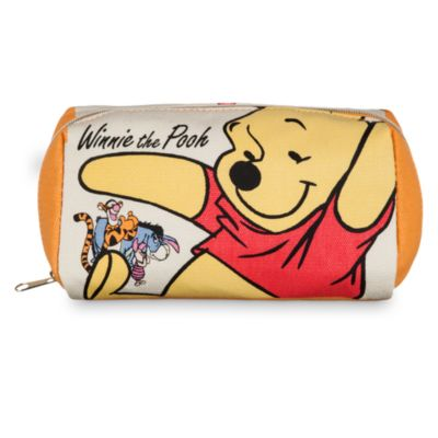 Winnie The Pooh Canvas Cosmetic Bag