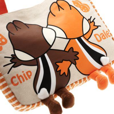 Bolso pequeño lona Chip y Chop